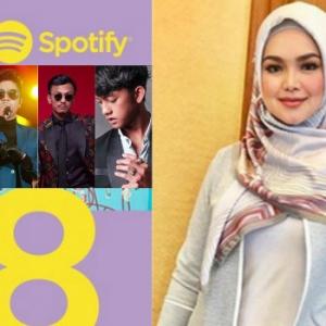 Tuah Siti Nurhaliza - Anugerah Artis Paling Tinggi Stream Di Spotify Kalahkan BBNU