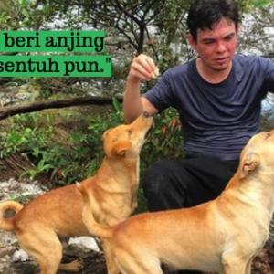 Yassin Kata Bagi Makan Pada Anjing Bukan Masalah