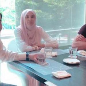 KJ, Rafizi Dan Nurul Izzah 'Lepak' Lagi Di Bangsar