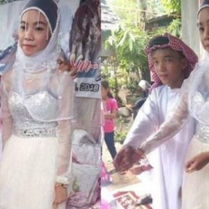 Budak Lelaki 9 Tahun Nikahi Gadis 14 Tahun, Jatuh Cinta Semasa Main Waterboom Bersama