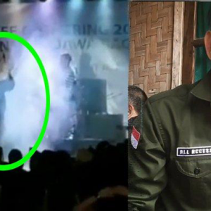Video Ngeri Saat Tsunami Krakatoa Menghempas Pentas Pertunjukan Band Seventeen