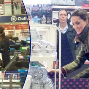 Pengunjung Terkejut Jumpa Kate Middleton Membeli-belah Untuk Krismas Di Pasar Raya