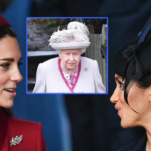 Ratu 'Perintah' Kate, Meghan Berdamai Pada Hari Krismas