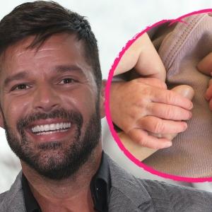 Ricky Martin Dan Suaminya Timang Anak Ketiga