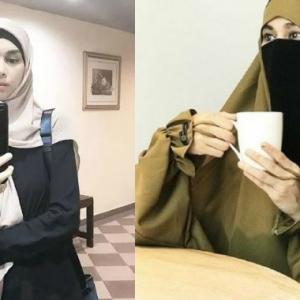 Natasha Hudson Dah Buka Niqab