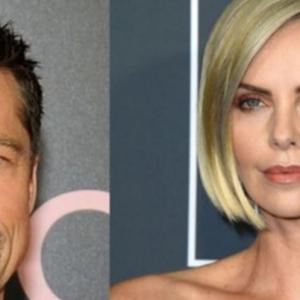 Panas! Brad Pitt Dan Teman Wanita Barunya Charlize Theron?