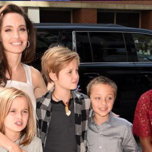 Jual Makanan Anjing, Cara Angelina Jolie Ajar Anak Kerja Kebajikan