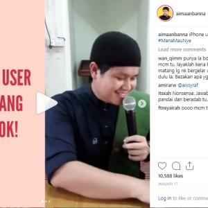 """""""Dajjal Nanti Keluar Bawa iPhone"""" - Aiman Banna Dikecam Kerana Seperti Mempersendakan Agama"""