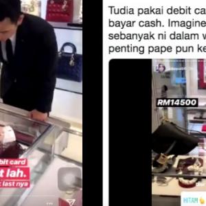 Tayang Video Membeli Di Butik Mewah, Insta Famous Dituduh Acah-Acah Kaya. Rupanya..
