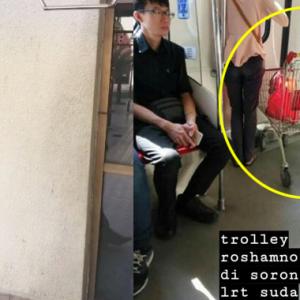 """Kenapa Angkut Troli Aku Sekali?"" - Reaksi Rosyam Nor Bila Nampak Troli ST Mart Kena Rembat"