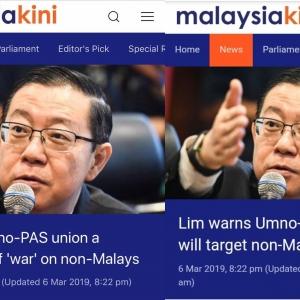 Orang Melayu Marah, Desak Siasat Lim Guan Eng Bawah Akta Hasutan