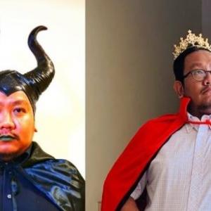 """Unik Dan Comelnya"" - Pensyarah UPSI Pakai Kostum Filem Tarik Tumpuan Pelajar"