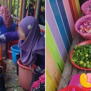 Dulu Belajar Berus Gigi, Kini Sekolah Adakan Program 'Mandi Bunga' Untuk Ubah Sikap?