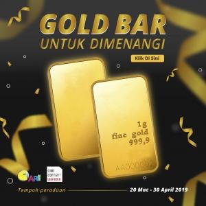 Nak Menang Gold Bar?