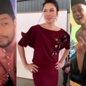 """""""Comel Dan Gedik Sangat"""" - Keletah Artis Berbaju Raya Cuit Hati Netizen"""