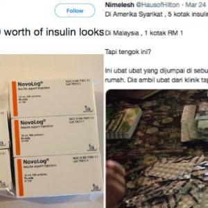 Rupa-Rupanya Insulin Tu RM2,000 Tapi Pesakit Di Malaysia Ni Main Buang-Buang Ja