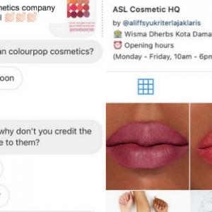 Produk Kosmetik Aliff Syukri Didakwa Guna Gambar Mekap Antarabangsa?