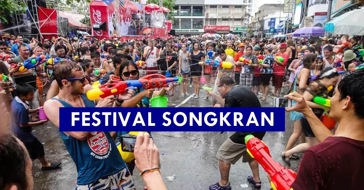 Festival Songkran, Pesta Air Wajib Disambut Di Thailand. Seronok Betul Main Air!