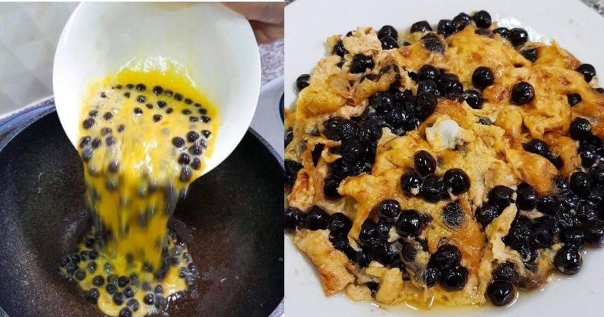 'Telur Dadar Pearl', Resipi Baharu Buat Peminat Tegar Bubble Tea!