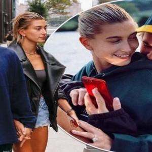 Usap Perut. Isteri Justin Bieber, Hailey Baldwin Dah Mengandung?