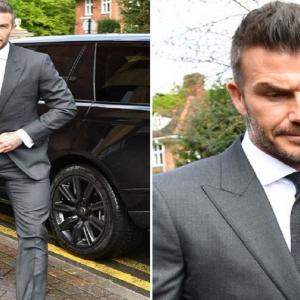 David Beckham Dihukum Kerana Menggunakan Telefon Bimbit Semasa Memandu