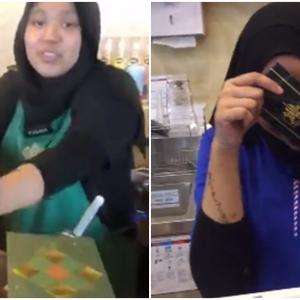 Lelaki Ini Mulakan Trend Bila Videonya Beri Duit Raya Kepada Pekerja Starbucks Tular