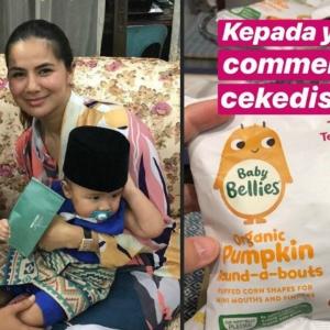 """""""Sejenis Malas Baca Kapsyen La Ni!"""" - Beri Anak Makan 'Cikedis', Noor Nabila Dibasuh Netizen"""