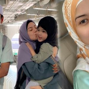 Cantik Bertudung, Peminat Doakan Lisa Surihani Istiqamah