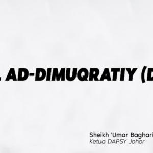 DAP Dah Jadi Sebuah Parti Islam? Ketua Dapsy Johor Dikecam Oleh Netizen