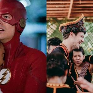 Tahniah! Pelakon Hollywood The Flash Berkahwin Dengan Gadis Sabah