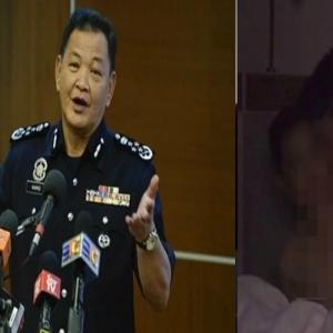 """""""Ingat Kami Tak Ada Kerja Lain Ke?""""- Ketua Polis Negara Maki Video Atas Katil 'Menteri'"""