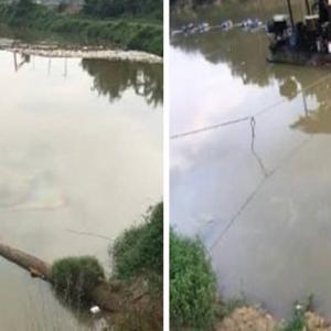 Krisis Air Lembah Klang: Kegiatan Mengorek Pasir Didakwa Punca Pencemaran Diesel