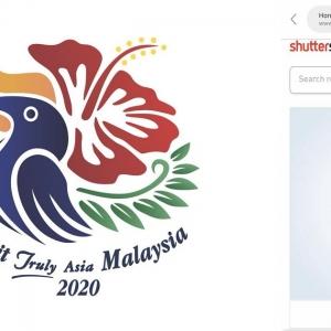 Logo Baru Tahun Melawat Malaysia 2020 Ciplak Stok Grafik Shutterstock?