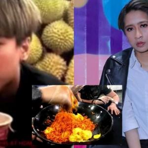 Makan Mee Pedas Dengan Durian, Ara Johari Muntah Teruk Hanya Kerana Gila Viral
