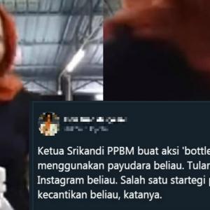 """Tak Lalu Weh"" - Wanita Didakwa 'Ketua Srikandi Bersatu' Tular, Buat 'Tet*k Challenge'"