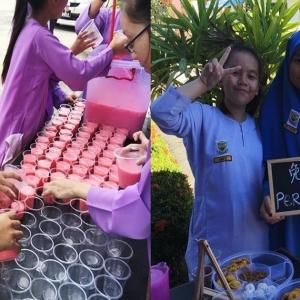 Murah Hati, Guru Jelita Sediakan Makanan Percuma Untuk Pelajar