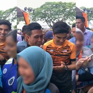 """""""Ya Allah Macam Tak Pernah Tengok Lelaki"""" - Netizen Kutuk Gadis Gedik Menjerit Jumpa Syed Saddiq"""