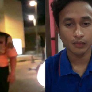 Reza Hasbi Mohon Maaf Viral Video Bertumbuk Dengan Pak Guard Hospital