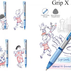 Grip X, Pen Kegemaran Sejak Di Bangku Sekolah, Temberang Kalau Tak Pernah Sentuh!