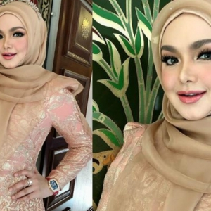 Kaya Tapi Tak Riak! Netizen Dakwa Jam Tangan DS Siti Nurhaliza Berharga Lebih RM600 Ribu