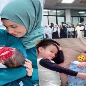 """""""Sederhana Tapi Bermakna"""" - Izreen, Ude Anjur Majlis Aqiqah Dan Tahnik Untuk Aaron Ibrahim"""