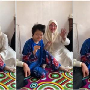 Berjiwa Rakyat, Raja Permaisuri Agong Nyanyi Lagu Tanya Sama Pokok Bersama Wanita Sindrom Down