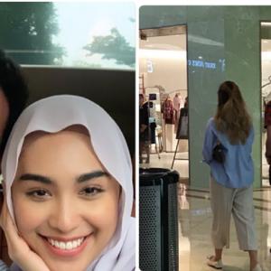 Cepatnya Move On! Baru Putus Dengan Tyra, Aazief Khalid Dilihat Keluar Dating Dengan Sharifah Rose