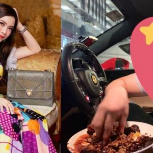 Tak Nak Masuk Kedai Sebab Selekeh, Kekasih Ruhaines Sanggup Suap Nasi Kandar Dalam Ferrari