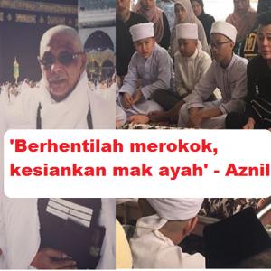 'Tolonglah Berhenti Merokok' - Aznil Terkilan Ayah, Dua Abang Meninggal Kerana Rokok