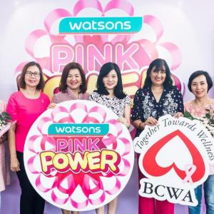 Kempen Pink Power Watsons Pupuk Kesedaran Kanser Payudara