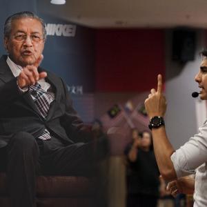 """""""Itu Pendapat Dia, Syed Saddiq Tak Bincang Dalam Kabinet Langsung"""" - Tun M"""