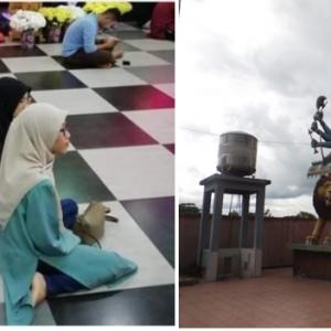 'Pelajar UniSZA Bersimpuh Dalam Kuil' - Pensyarah Perjelas Foto Yang Jadi Kontroversi