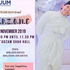 Bakal Beri Ceramah 'Friendzone' Di UUM, Netizen Perli Kredibiliti Ardell Aryana