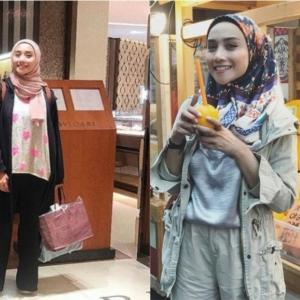 Manisnya Wan Sharmila Bertudung! Moga Istiqamah..